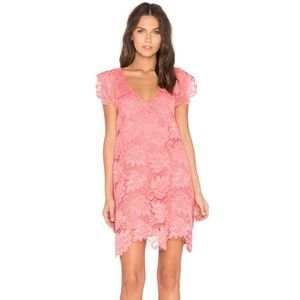 Revolve BB Dakota Jacqueline Lace Shift Dress
